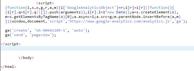Analytics Install - Guelph SEO