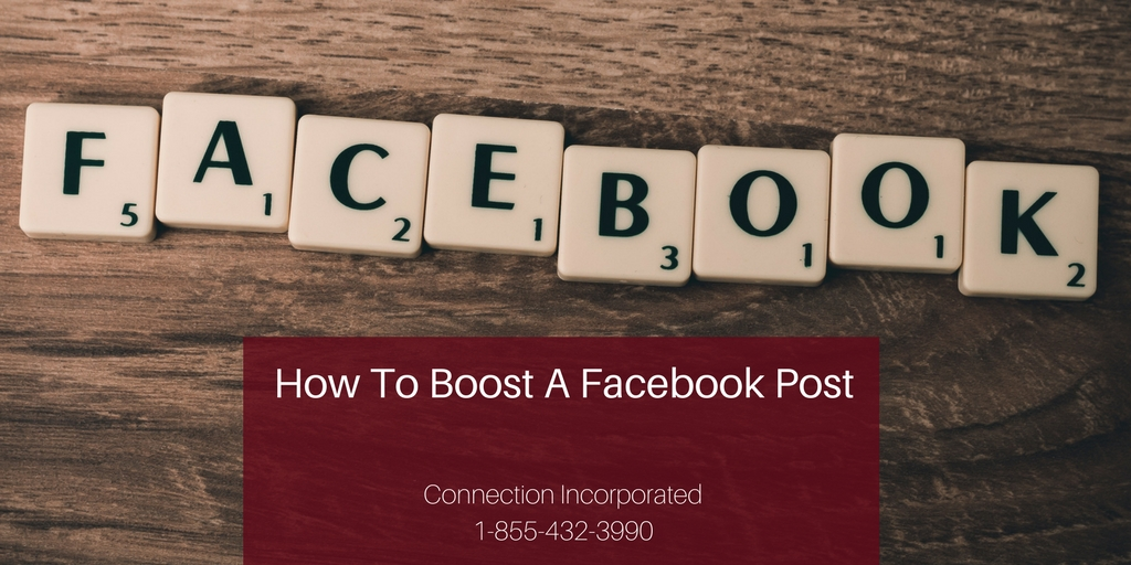 Facebook Marketing - How to Boost a Facebook Post