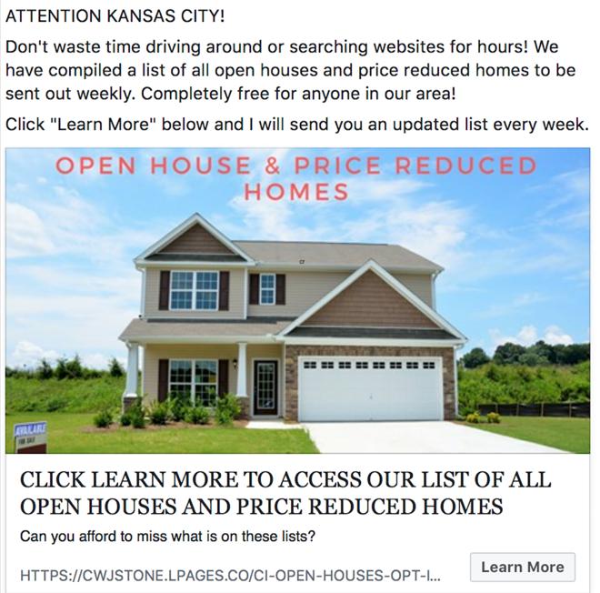 Mortgage Marketing - FB Ad Campaign 2