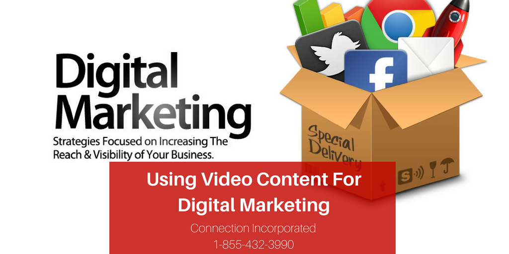 Using video content for digital marketing