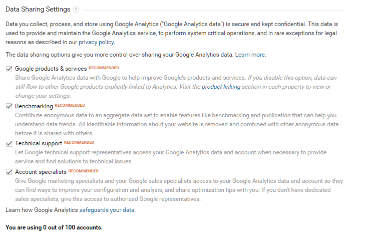 SEO Guelph - Google Analytics Sign Up