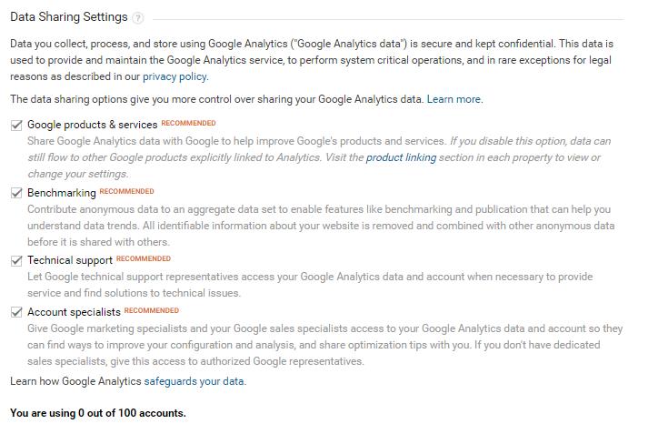 SEO Guelph - Google Analytics Sign Up