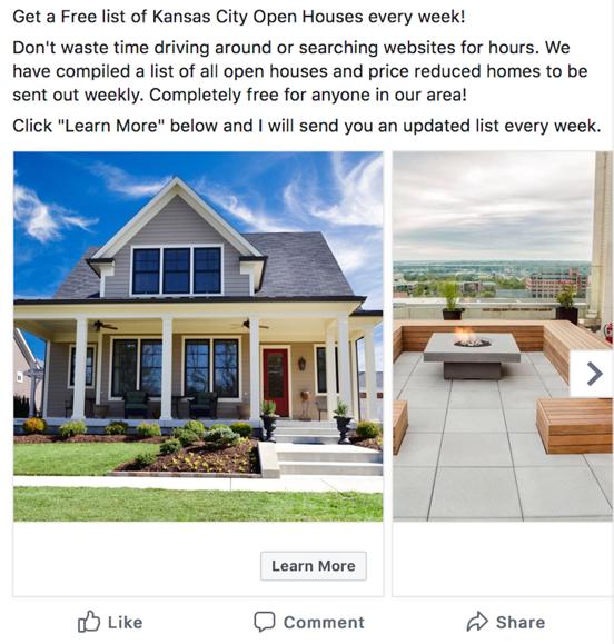Mortgage Marketing - FB Ad Campaign