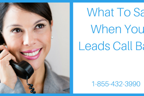 Facebook Advertising- What to say when your leads call back