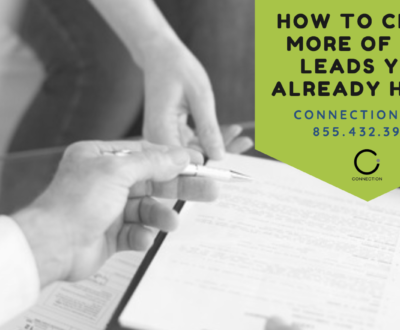 Mortgage Leads - How to Close More of the Leads You Already Have!