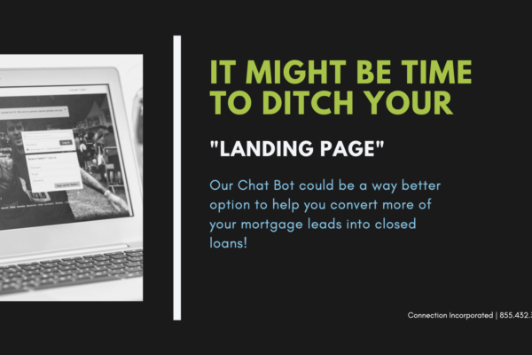Mortgage Leads - It Might be Time to Ditch Your Landing Page